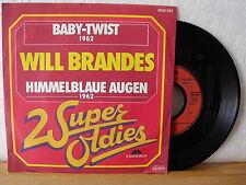 """7"""" Single - WILL BRANDES - Baby-Twist - Himmelblaue Augen - Near Mint!"""