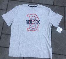 Boston Red Sox Short sleeve Grey T-shirt-Mens XL