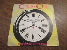 45 tours CULTURE CLUB time (clock of the heart)