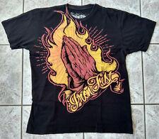 """ORIGINALE IRON FIST """"pray for Me"""" T-shirt Men size L molto raro programmazione a oggetti VERY RARE"""
