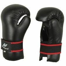 Semi Contacto Punto Guantes Sparring Negro Competencia Kick Boxing Itf Taekwondo