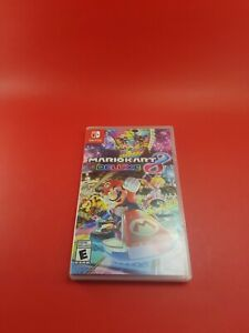 Nintendo Switch Mario Kart Deluxe 8 Case Only