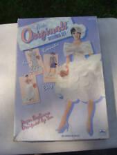 Vtg 1991 Bride Originals Designer Set by Golden Paper Clothes Western Publishing