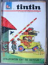 Journal de Tintin 914 du 28/04/66 Seul sur l'atlantiq
