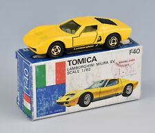 Tomica Foreign Series (Japan) 1/62 Lamborghini Miura SV F40 *MIB*