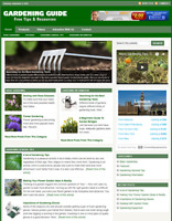 GARDENING GUIDE - Responsive Niche Website Business For Sale - Free Installation
