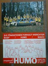 wielrennen-cycling-: S.G. TÖNISSTEINER/ TORHOUT-WERCHTER / WIELERKAART -- 352