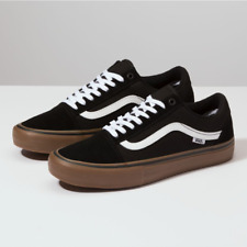 7ceb9a79f46 VANS - Old Skool Pro - Black   White   Medium Gum - VN000ZD4BW9  65