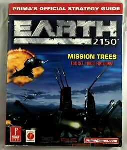 Earth 2150: Official Strategy Guide by Kolmos, Keith M Paperback Book VGC