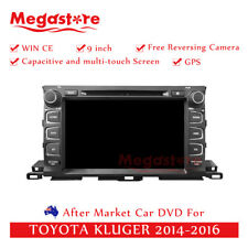 "9"" Car DVD GPS Navigation Head Unit Stereo For TOYOTA Kluger 2014-2018"