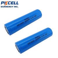 2 18650 Li-ion Rechargeable Batteries 2200mAh 3.7V Lithium High Drain PKCELL