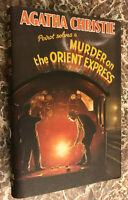 Murder on the Orient Express,1934 First Edition Facsimile~Agatha Christie w/ DJ!