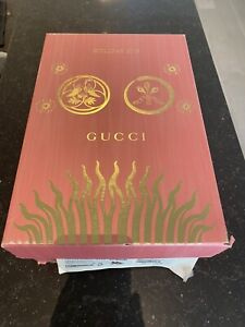 AUTHENTIC GUCCI SHOE BOX EMPTY Pink & Gold Special Edition