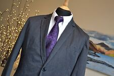 RIVER ISLAND Smart Casual Blazer Jacket Dark Grey Chest 40/42''
