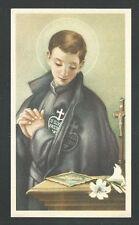 estampa de San Gabriel de la Dolorosa santino holy card image pieuse
