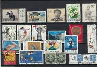 CHINA STAMPS ON  LARGE STOCK CARD REF R251