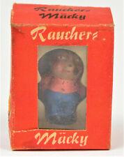 DDR Spielzeug Figur Räucher Mäcky in OVP 16 Stück Räucherstäbchen RAR!! 4293