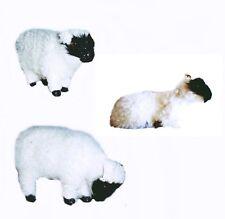 Schwarzkopf Brebis 5 CM Santon Animal à Poils Animaux à Poils Mouton Agneau