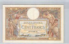 FRANCE 100 FRANCS LOM 9.2.1933 Y.39180 N° 979497242 PICK 78c