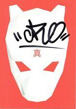 CRO Autogramm Karte 3 handsigniert MTV UNPLUGGED - BYE BYE Rapper