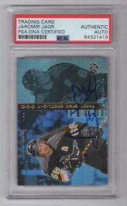 1998 Upper Deck UD3 Jaromir Jagr Pittsburgh Penguins Signed Auto Card 32 PSA/DNA
