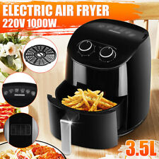 3.5L Air Fryer 1000W Power Oven Cooker Oil Free Low Fat Healthy Frying Chips UK