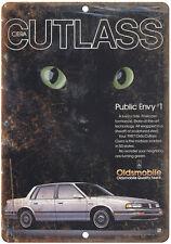 "1987 Oldsmobile Cutlass Ciera 10"" x 7"" Reproduction Metal Sign"