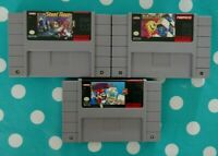 SNES Game Lot (Super Nintendo) Bundle