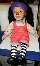 """Vintage 1996 Loonette 18"""" Talking Doll Big Comfy Couch Television Show Playmate"""