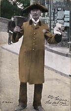 Ripon. The Bell Man by G.Parker. Town Crier.