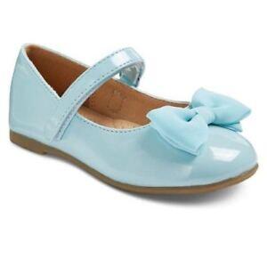 NEW! Cherokee Joss Patent Mary Jane Ballet Flats, Turquoise/Aqua - Various Sizes