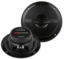 Renegade RXM62B schwarz 16,5cm Lautsprecher Marine Boot 100RMS 200 Watt Speaker