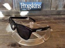 Oakley FROGSKINS (Black/Grey) Brand New [Romeo, Juliet, Minute Machine, X metal]