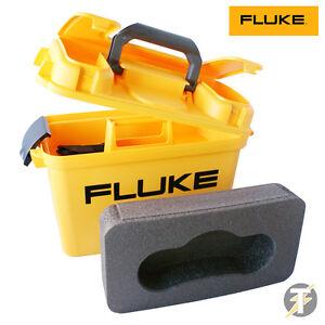 Fluke C1600 Meter Carry Case w/ Foam Insert for 1650 and 1660 Series MFT Testers