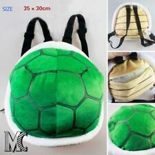 Cute Super Mario Bros. Plush Bowser Soft Toy Stuffed Tortoise Bag Kid Backpacks