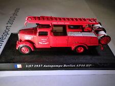 Del Prado Mundo Fuego Motores-Francia 1937 autopompe Berliet AP 80 Hp code70