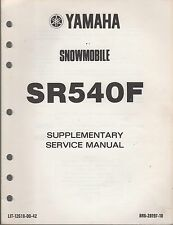 1982 YAMAHA SR540F SR-V SUPPLEMENTARY SERVICE MANUAL LIT-12618-00-42  (004)