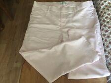 Bon Marche Eden Cropped Pink Jeans Size 16