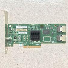 LSI SAS 3081E-R 3Gb/s 8 Port SATA/SAS 1068E Host Adapter Controller Card
