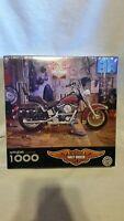 "New & Sealed Harley - Davidson Springbok 1000 pcs. Puzzle 24"" x 30"""