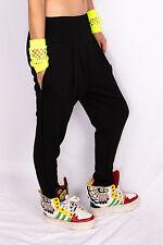 Summer Casual Women Hip Hop Dance Baggy Pants Cotton Black Sports Harem Trousers