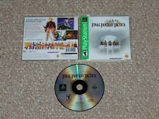 Final Fantasy Tactics Sony PlayStation Complete Greatest Hits