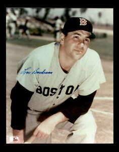 Lou Boudreau Hand Signed 8x10 Photo Autograph Red Sox