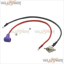 Deluxe Glow Plug Igniter Booster Extension (RC-WillPower) Glow Plug Adaptor