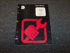 Dresser 4LE-304 Turbocharger International Engine Shop Service Repair Manual