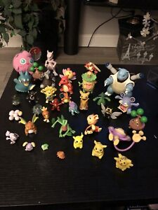 Pokemon Action Figures Lot Tomy, Jakks, Nintendo Various Sizes 2005 - 07 Games