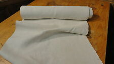 Homespun Linen Hemp/Flax Yardage 8 Yards x 19'' Plain  #6881