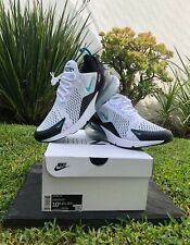Nike Air Max 270 Casual Shoes Dusty Cactus White/Teal AH8050-001 Men's Size 11