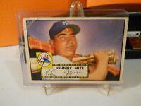 1952 Topps 129 Johnny Mize GOOD 2   NEW YORK YANKEE-FIRST BASE