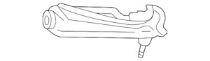 Genuine Ford Upper Control Arm 1L2Z-3085-AA